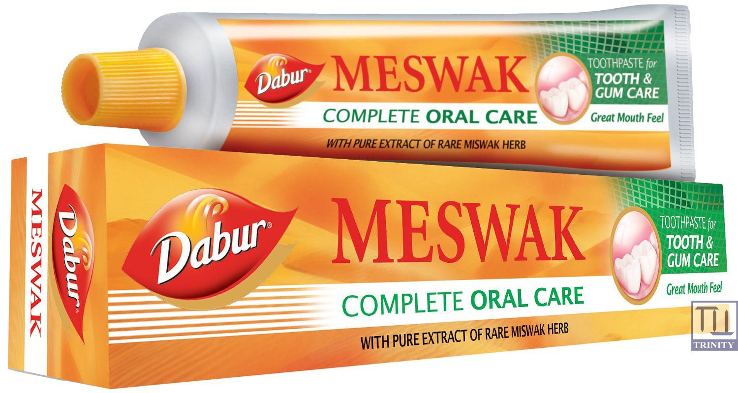 Dabur  Meswak Tooth Paste 印度達普兒牌 ~  Meswak 牙膏