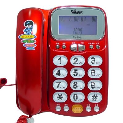 【純米小舖】羅蜜歐來電顯示有線電話機TC-558