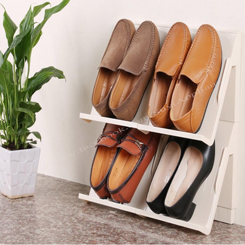 【西華】多功能可拼接層疊立體儲物架(1件組) 收納架/鞋櫃/收納櫃/