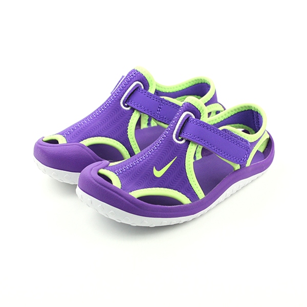 NIKE 涼鞋 童鞋 紫色 小童 no382
