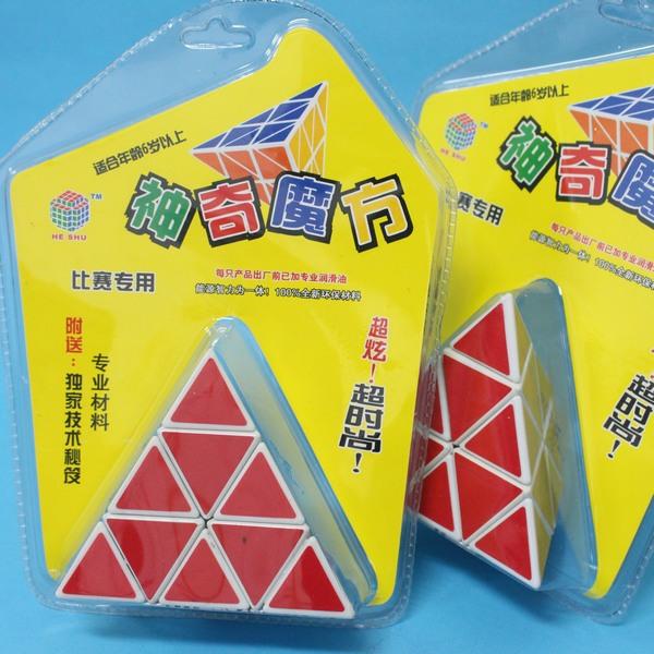 三角形魔術方塊 等邊10cm(正三角形4面)/一個入{定120}