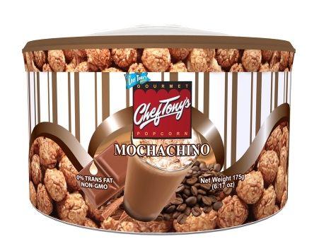 ChefTonys 爆米花 - 杏仁摩卡拿鐵 東尼大廚 240克 盒裝 菲律賓 第一名 天然 團購美食 蘑菇型爆米花