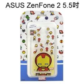 復仇者聯盟Q版透明軟殼 [鋼鐵人] ASUS ZenFone 2 ZE550ML ZE551ML Z00AD Z008D【正版授權】