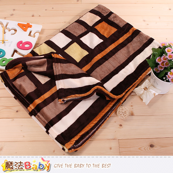 法蘭絨毛毯 140x210cm 四季毯 魔法Baby~w61003