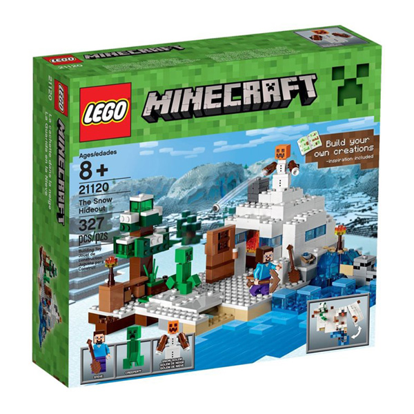 【LEGO 樂高積木】Minecraft 創世神系列 - The Snow Hideout LT-21120