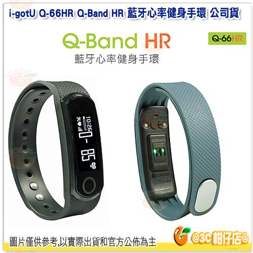 i-gotU Q-66HR Q-Band HR 藍牙心率健身手環 公司貨 防水 IPX7 睡眠偵測 心律監測 Q66HR