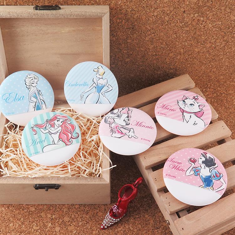【Disney】迪士尼手套型氣墊粉撲-公主系列