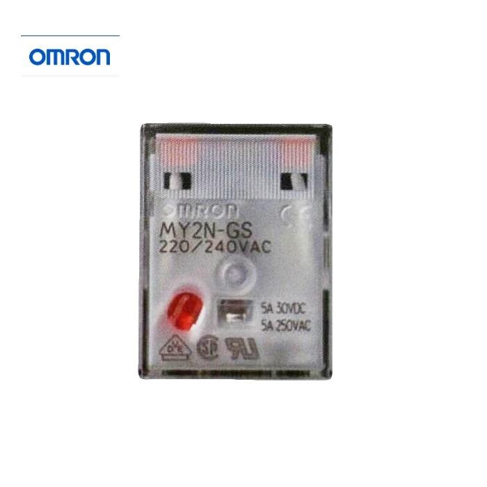 【OMRON】 繼電器 MY2N-GS  8腳 (MY2NJ為舊款)