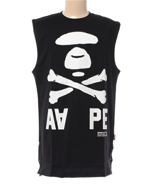 AAPE BY A BATHING APE- TK TANKTOP 雙面拼接背心