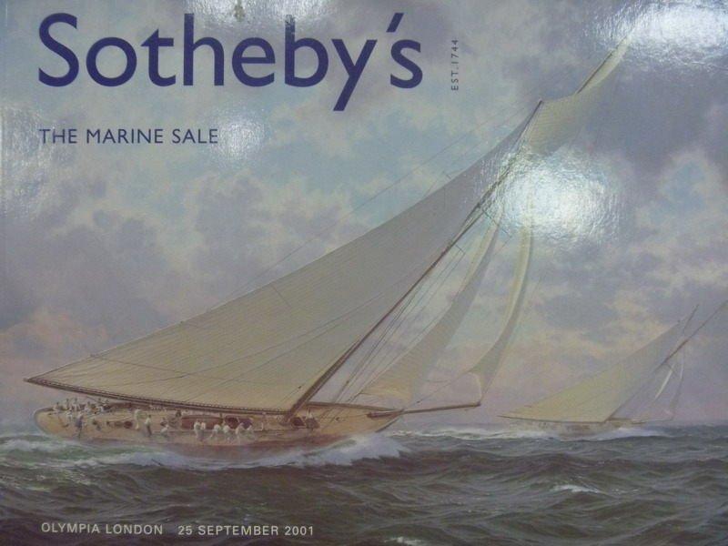【書寶二手書T7/收藏_PPU】Sothebys_2001/9/25_The Marine Sale