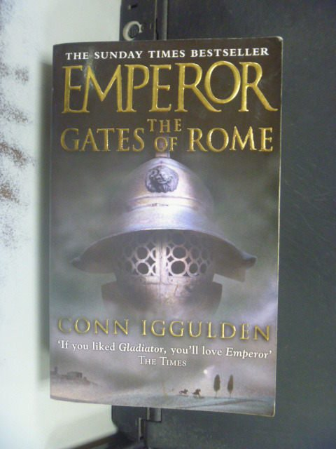 【書寶二手書T7/原文小說_JGJ】Emperor: The Gates Of Rome_Conn Iggulden