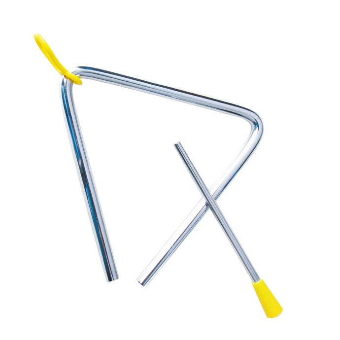 【華森葳兒童教玩具】樂器教具系列-三角鐵 H3-DMM029