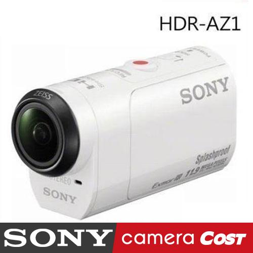 【夏天!超輕防水】SONY HDR-AZ1 數位攝影機 公司貨 送32G+自拍棒超值好禮組