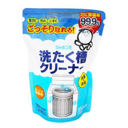 [敵富朗超市]日本Shabon泡泡玉洗濯槽用洗淨劑500g