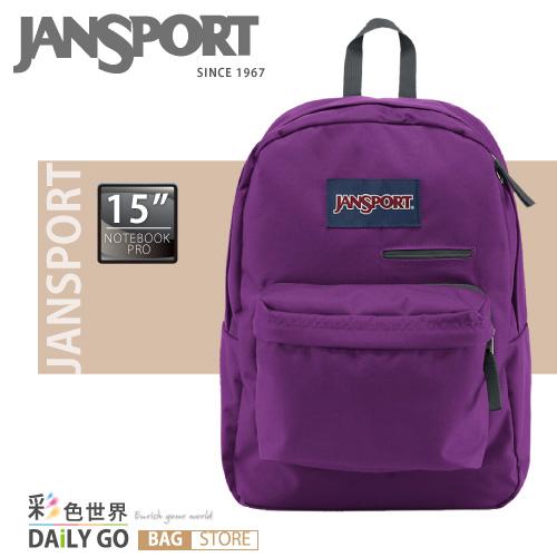 JANSPORT 後背包-活潑紫 JS-41550-2C8