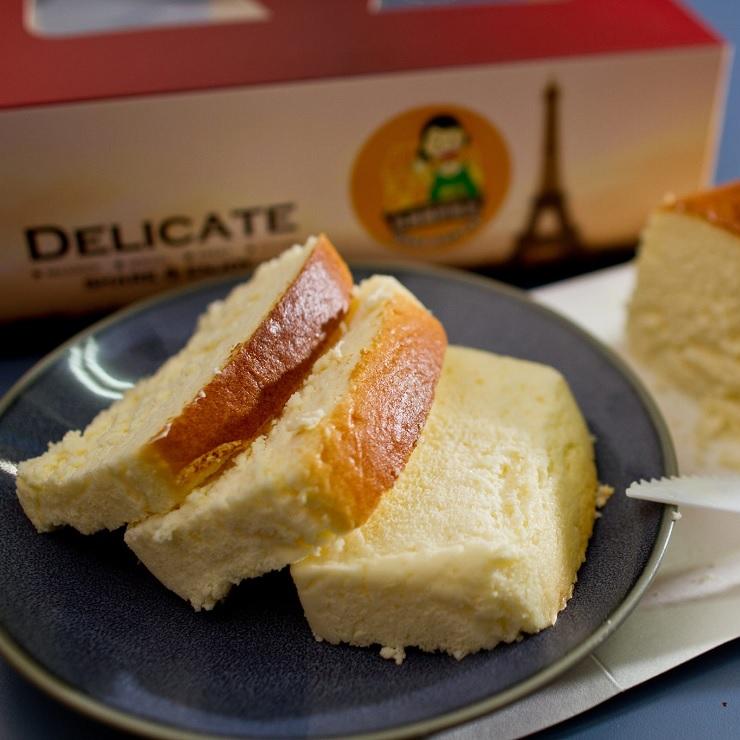 【林媽媽手作烘培坊】輕乳酪蛋糕 (長18cm 寬9cm 高6cm)