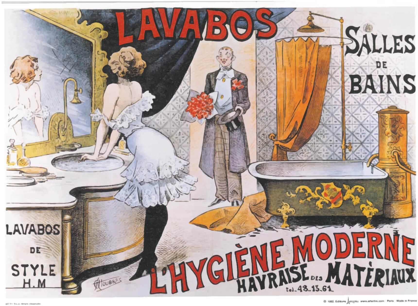 Lavabos 復古歐風化妝台(含框)