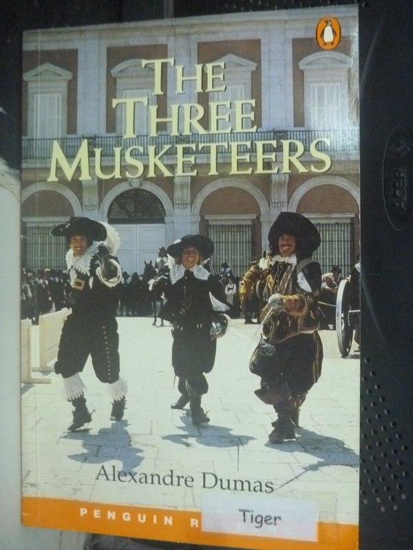 【書寶二手書T1/原文小說_IDB】The Three Musketeers_Alexandre Dumas