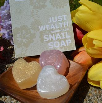 蝸牛液美容手工皂 試用品包30 g x 1