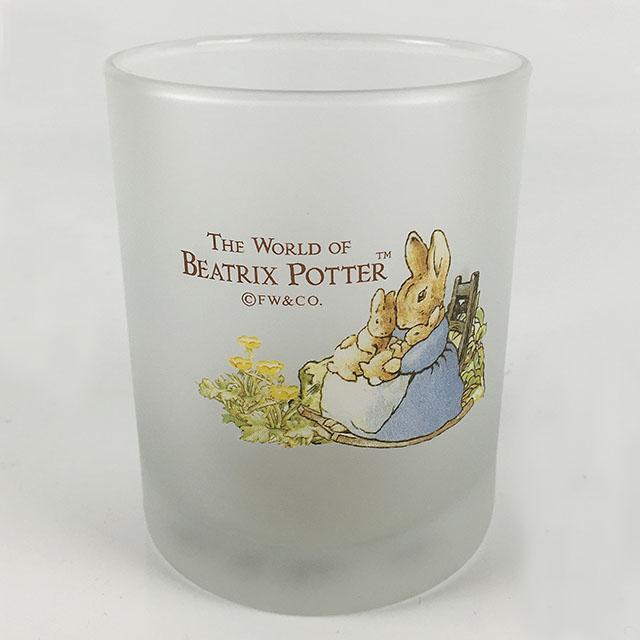 AnniesFriends 比得兔 Peter Rabbit 380CC 厚底圓杯 質感霧面 玻璃杯 禮品