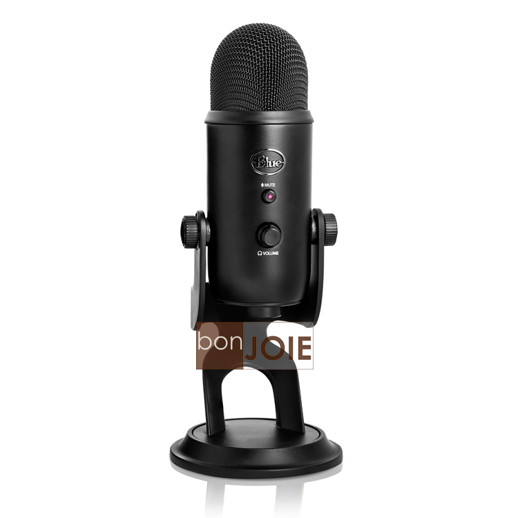 ::bonJOIE:: 美國進口 Blue Microphones Yeti USB 電容式 USB 麥克風 (黑色款)(全新盒裝) Microphone MIC
