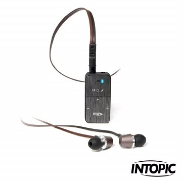 INTOPIC廣鼎 SP-HM-BT001 (黑色) 藍芽3.0音控盒