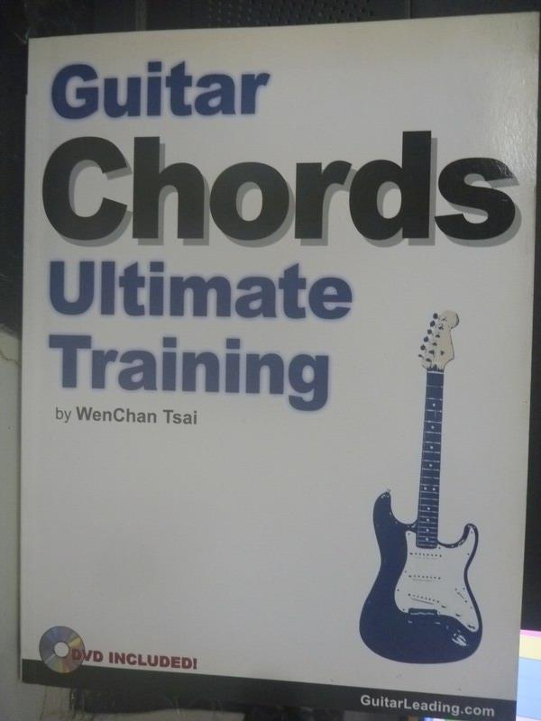 【書寶二手書T1/音樂_WFM】Guitar chords ultimate training_WenChan_無光碟