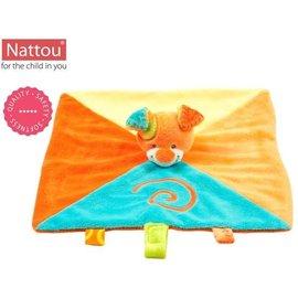 Nattou - 絨毛動物安撫巾奶嘴扣/凱第狗