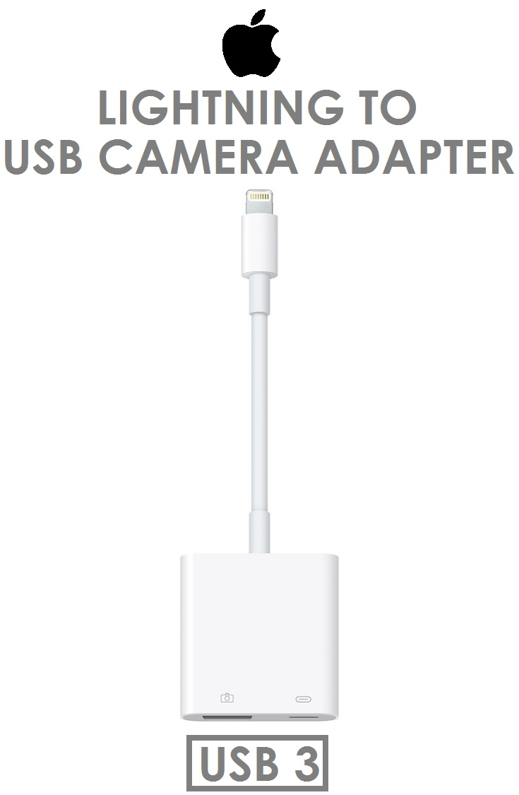 【原廠吊卡盒裝】蘋果 Apple Lightning 對 USB 3 相機轉接器