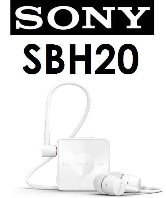 【原廠吊卡盒裝】索尼 SONY SBH20 Bluetooth 立體聲藍牙耳機 SBH-20