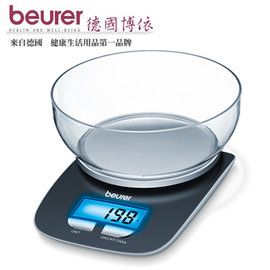beurer 德國博依 飲食料理電子秤 KS25 /防滑底座/藍色背光/省電裝置