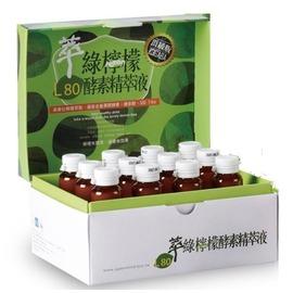 L-80 萃綠檸檬 代謝酵素精萃液 12罐/盒◆德瑞健康家◆