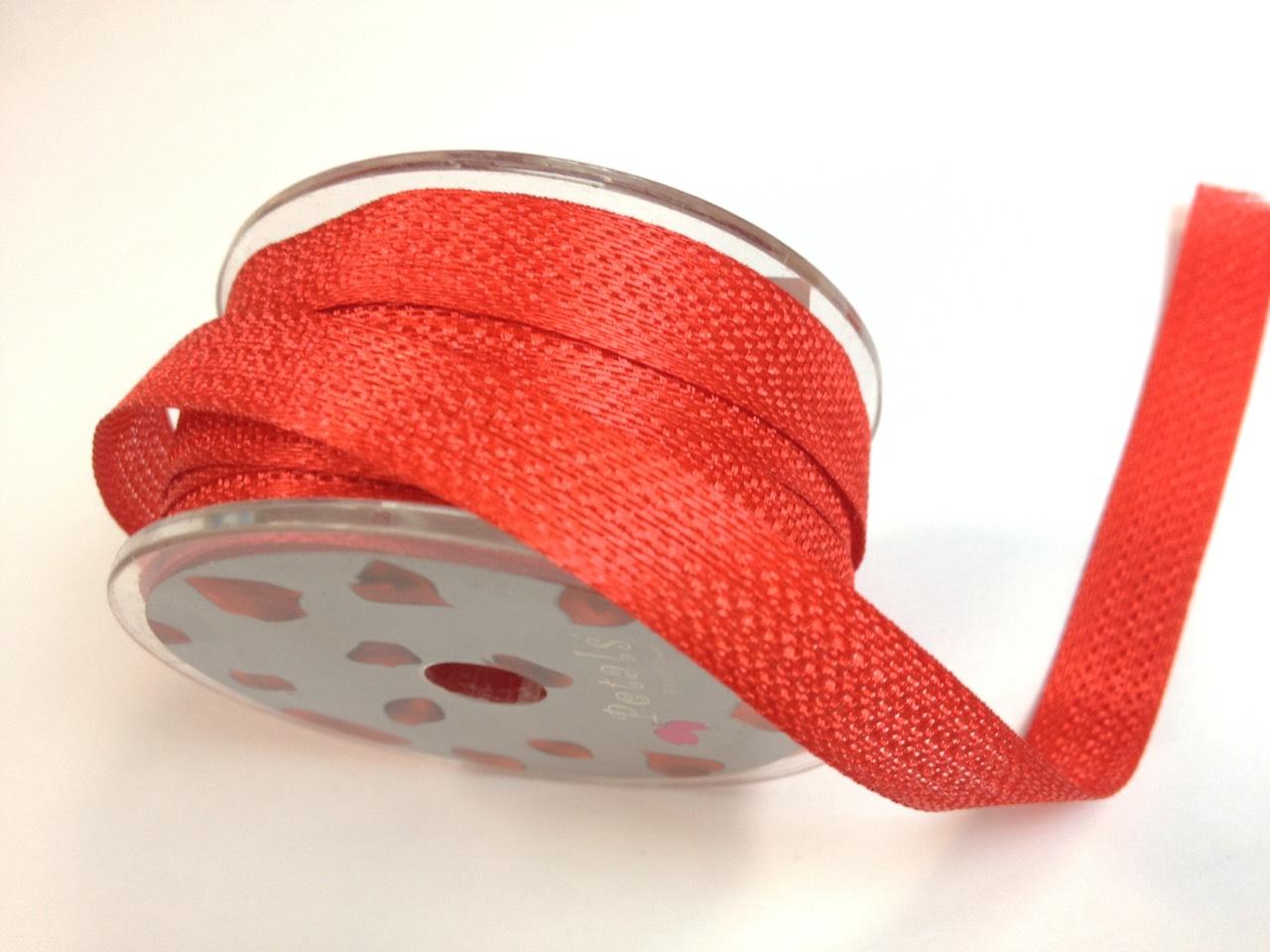 Petals緞帶刺繡- 羅紋帶 8mm (十九色)
