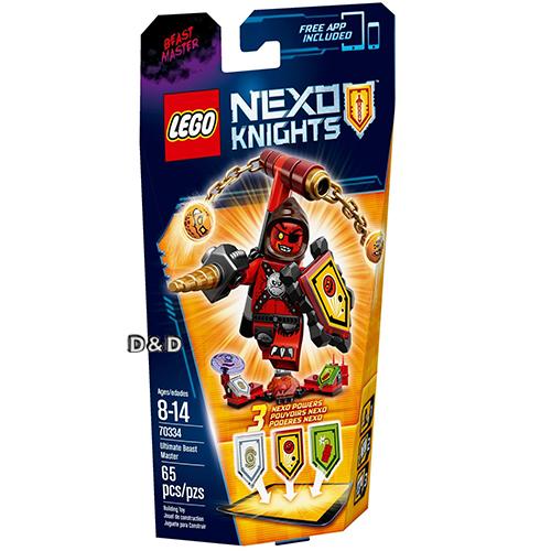 樂高積木LEGO《 LT70334 》Nexo Knights 未來騎士系列 - 終極魔獸大師