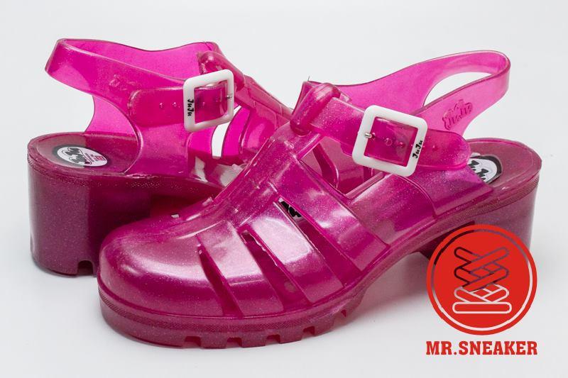 ☆Mr.Sneaker☆ JUJU Babe 英國 果凍鞋 雨鞋 膠鞋 孫瑩瑩 Elle Fanning 大饅大力 桃紅