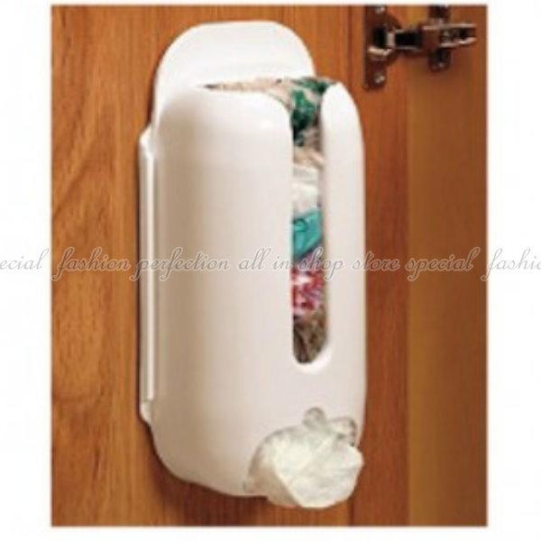 塑膠袋收納盒 便捷垃圾袋抽取收納盒 塑膠袋收納盒 可黏可釘【GE314】◎123便利屋◎