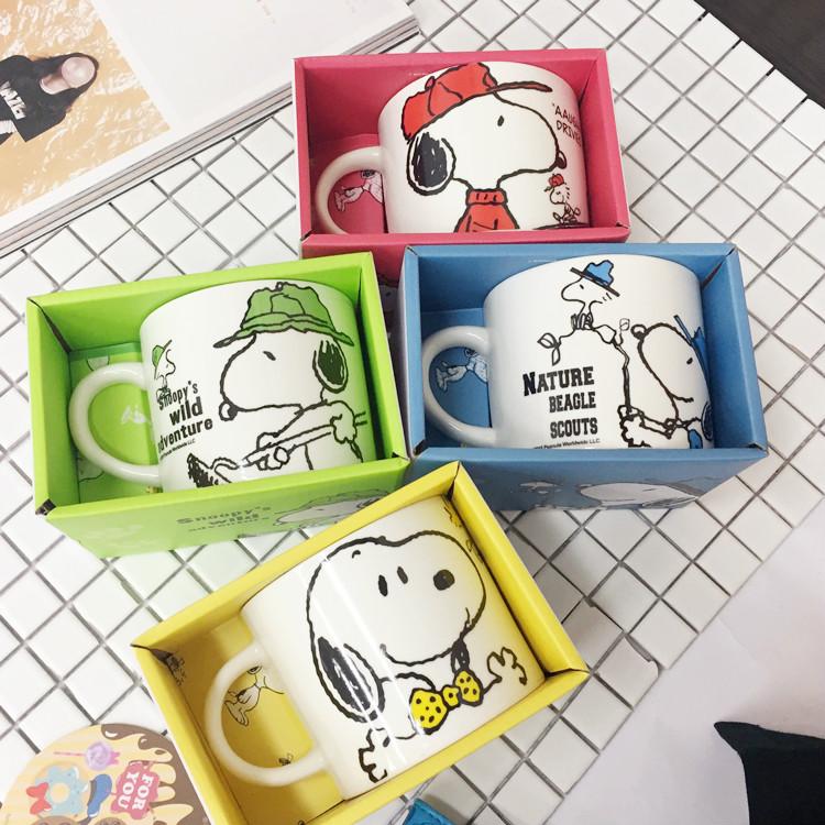 PGS7 (現貨+預購) 日本卡通系列商品 - 史努比 陶瓷 湯杯 馬克杯 水杯 陶瓷杯 湯碗 史奴比 snoopy