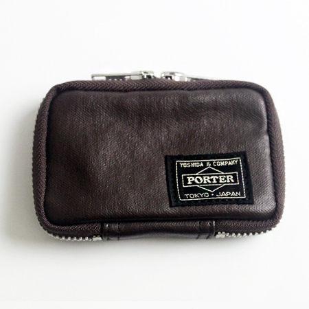 日標PORTER吉田FREE STYLE 咖啡色鑰匙包 現貨707-07177 柒彩年代【NW443】日本製