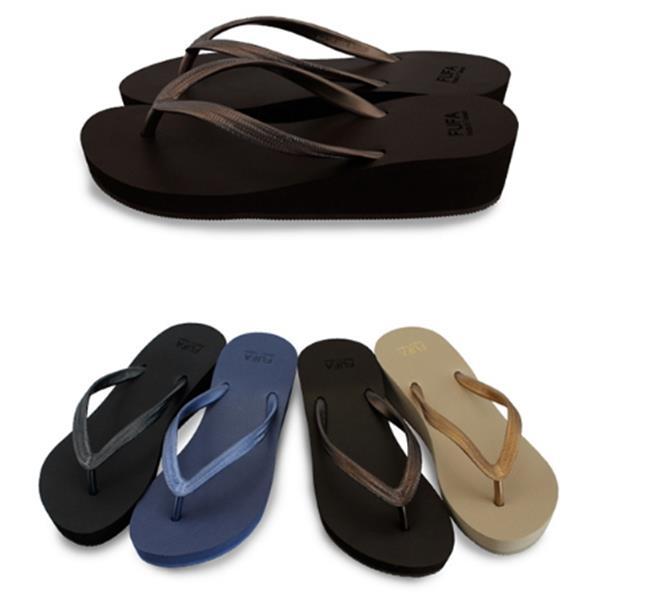 50%OFF【PPDC02FUFA】楔型淑女海灘拖-帆船鞋帆布鞋韓版nike懶人鞋拖鞋高跟鞋厚底鞋涼鞋