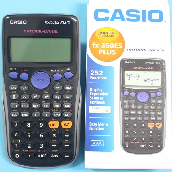 CASIO卡西歐FX-350ES PLUS工程計算機 自然顯示工程計算機/一台入{促599}~全新保固(團購優惠更多)