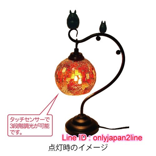 【真愛日本】16110300006復古琉璃夜燈-龍貓吹笛   龍貓 TOTORO 豆豆龍  擺飾 飾品 正品