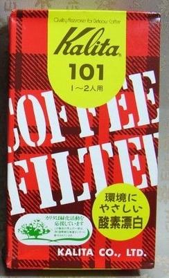 ~福介生活館~日本原裝~Kalita101 咖啡濾紙 (40入/盒)~超低價45元~日本製 煮咖啡 cafe