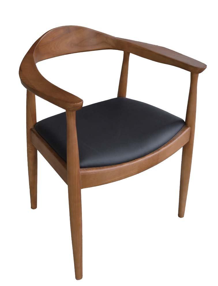 【石川家居】JF-485-4 經典胡桃總統椅-單只 (不含其他商品) 需搭配車趟