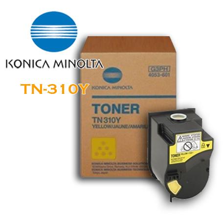 【歲末出清下殺】柯達Konica Minolta bizhub TN-310Y 黃色原廠碳粉(適用C350/C351/C450/C450P)