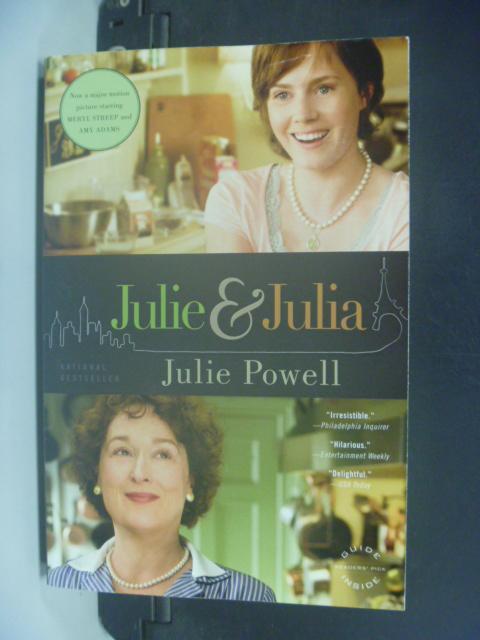 【書寶二手書T7/原文小說_HMB】Julie and Julia_Powell, Julie