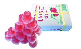 【橘町五丁目】季節商品!  AS 100% 果汁果凍盒裝25入-草莓果凍