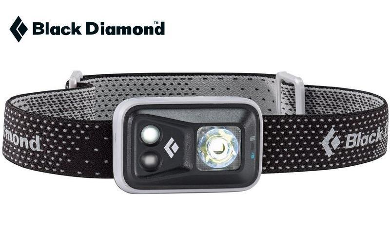Black Diamond 頭燈/led頭燈/背包客/健行/登山 Spot 防水LED頭燈 200流明高亮度 BD 620621灰