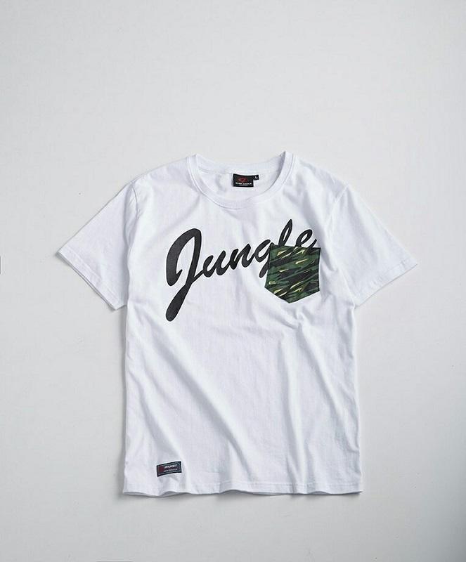 【這個讚】Even Jungle【正品】森林戰士棉短T-白/黑