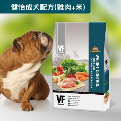 ★優逗★VF Balance 魏大夫天然食譜寵糧  健怡成犬配方 (雞+米)  0.5KG/0.5公斤