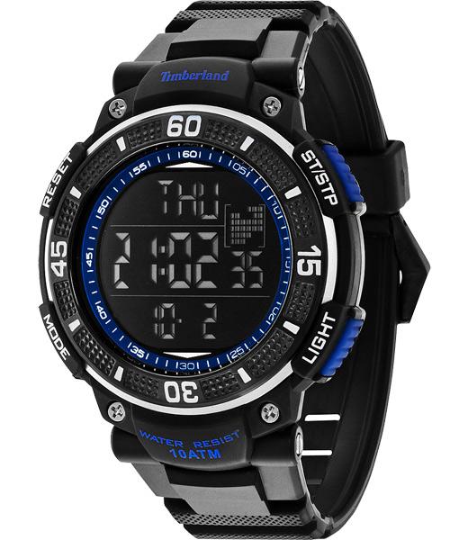 Timberland 天柏嵐 TBL.13554JPBB/02多功能數位腕錶/黑藍50mm